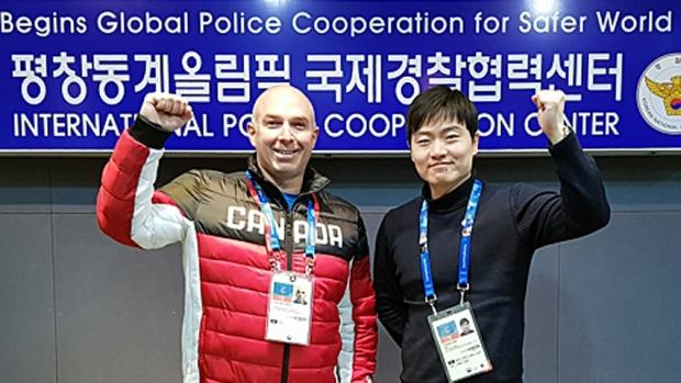 这位优发国际警官在冬奥会因救了一名男孩获表彰