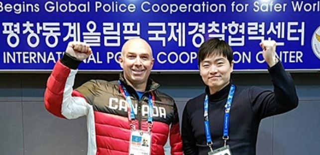 参与冬奥会安保工作的加国警官 救回1名韩国儿童