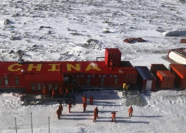争霸南极!中国又去钉上了一大颗钉子