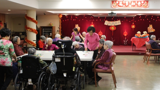 多伦多地区华人养老院的一张床位要等12年