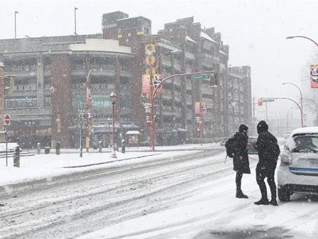 气温回升 今天或再有湿雪