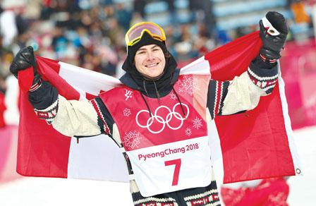 男子单板滑雪空中技巧 加摘金 奖牌增至28面