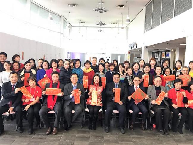 BC中文协会2018 年春茗会圆满结束