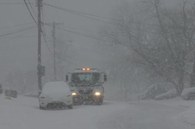注意!纽约新泽西长岛暴风雪警报今晚生效