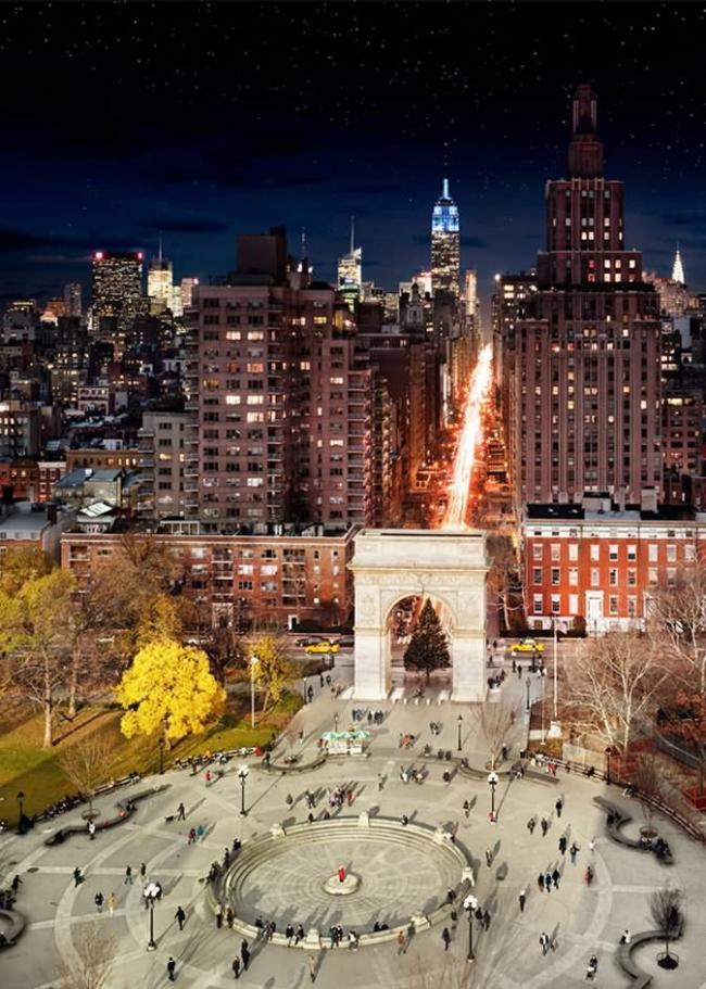 从白天到黑夜 纽约拥有百变的美丽