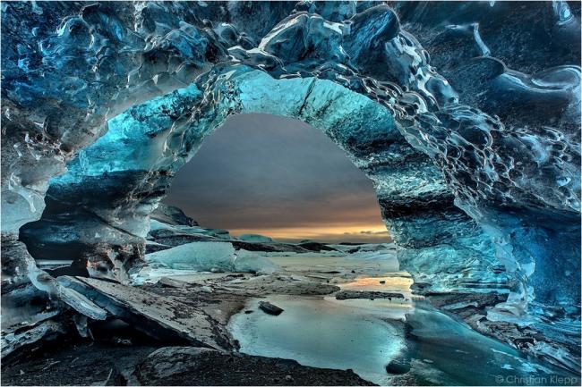 美丽却致命的神秘地带 零下120度冰洞