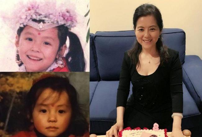 张靓颖出道前美照罕见曝光 网友:母亲基因强大