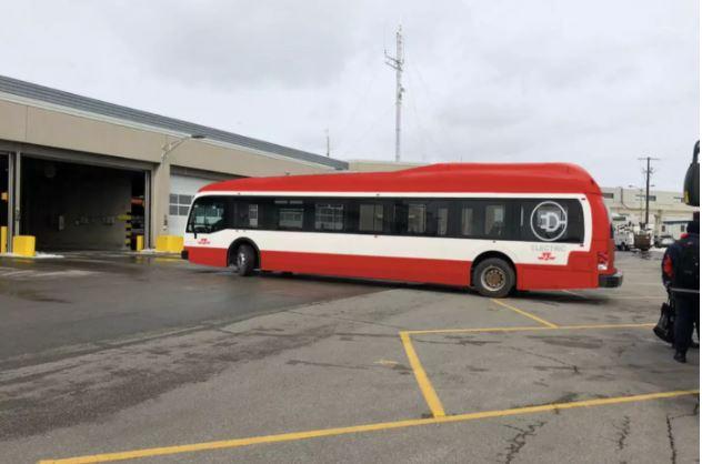 多伦多全电动公交车 亮相