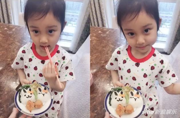 甜馨为李小璐做母亲节爱心餐 懂事乖巧变美不少