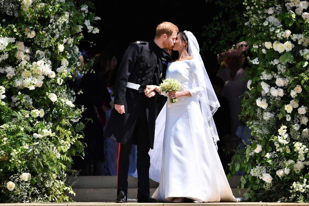 哈里与梅根完婚,英国王室迎来新时代