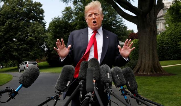 """NAFTA悬了?川普发推怒斥加拿大是""""妈宝"""""""