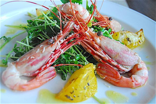 温哥华普罗旺斯法式餐厅的初夏 品尝滋味斑点虾