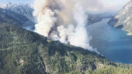 下周料预计要刮大风 内陆山火恐加剧