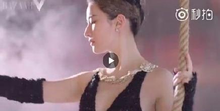刘亦菲未修图视频引争议 黑天鹅被吐槽胖天鹅