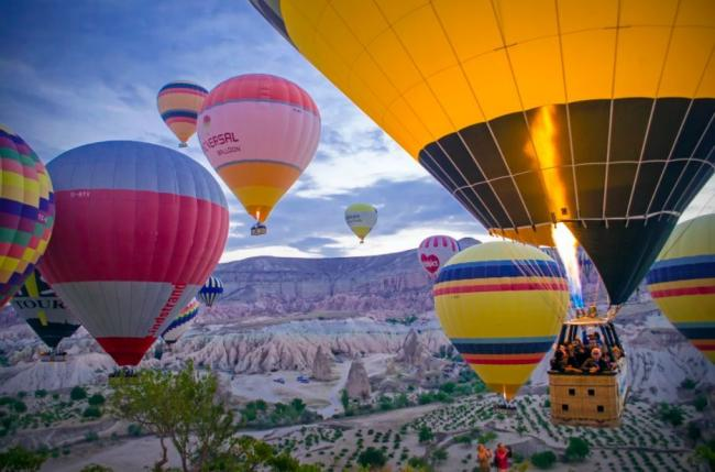想带你去浪漫的土耳其 一起看热气球雨