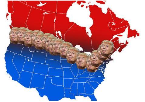 """去美国难了!川普痛斥优发国际人南下""""走私"""""""