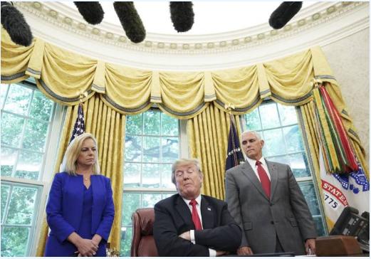 川普改主意了 要永久拘禁非法移民全家