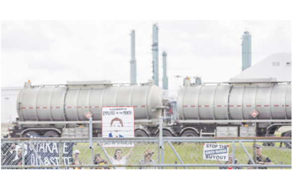 联邦购买跨山油管代价高 报告指明年财赤势增36%