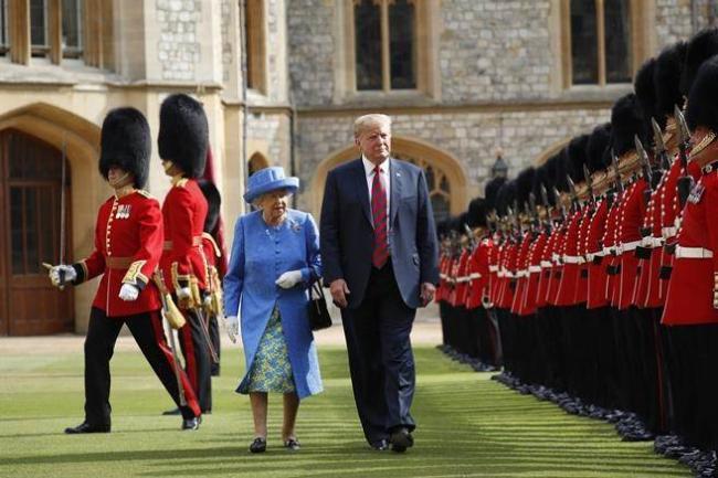 传查尔斯威廉都拒见川普  独留女王见客
