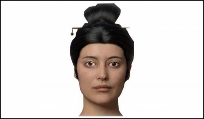 复原图:秦始皇嫔妃长这样 来自中亚或欧洲?