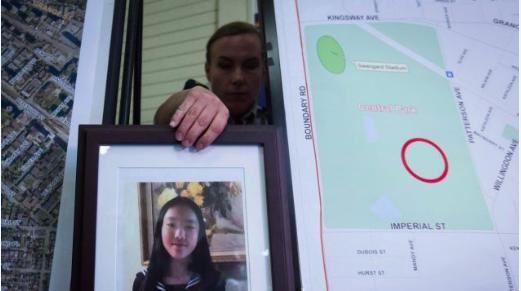 华人女孩申小雨遇害一周年 家人请求公众帮助寻凶