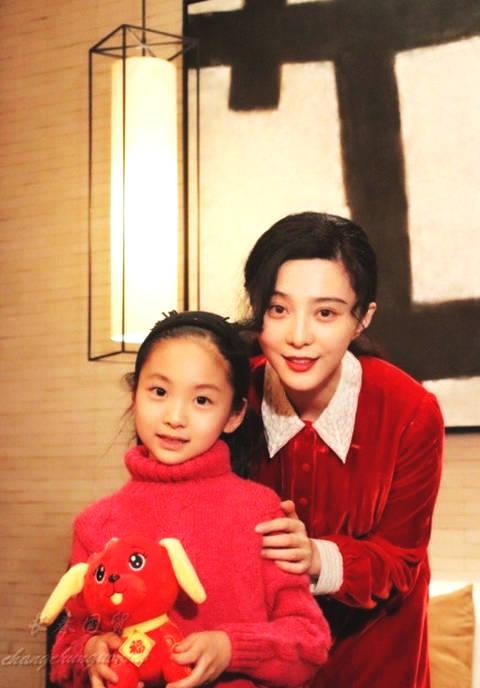 范冰冰7岁堂妹近照曝光 正式进军演艺圈