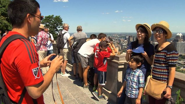 蒙特利尔中国游客大增 四年来翻一倍