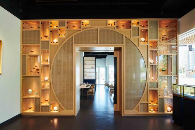Origo Club画廊咖啡馆法式餐厅三合一