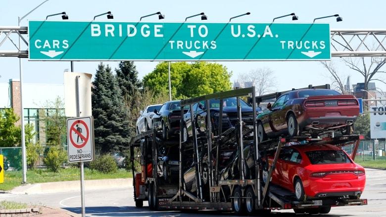 加拿大与美国的贸易顺差创新高