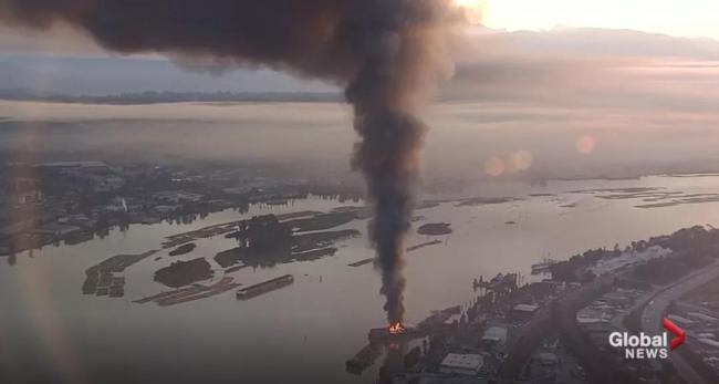 雾霾归 大火浓烟高耸762米 臭氧浓度居高不下