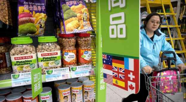 大陆食品价络暴涨 贸易战致中国闹粮荒?