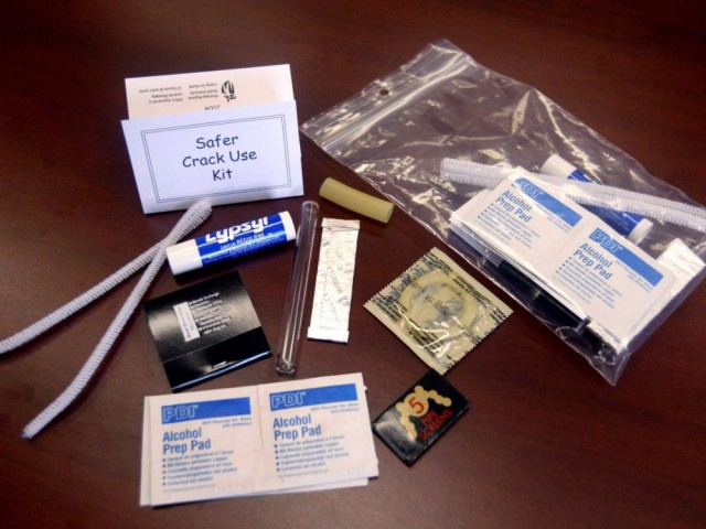 能防艾滋?萨省社工提议配备提供吸毒设备