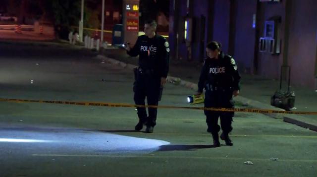 北约克凌晨2人被枪击 伤势严重