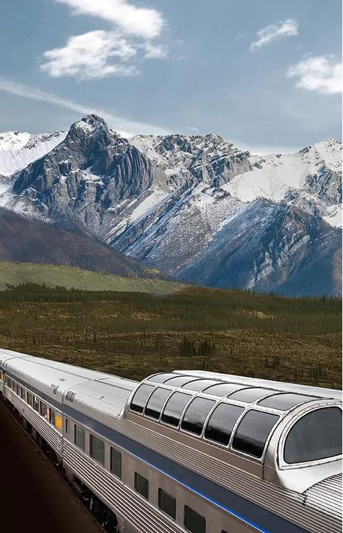 中加旅游年 乘着火车游遍加拿大