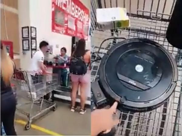 丢人:华裔夫妻拿用1年半家电去Costco退货