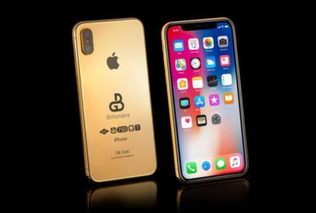 英国一公司拟推镀金版iPhone 售价11.3万美元