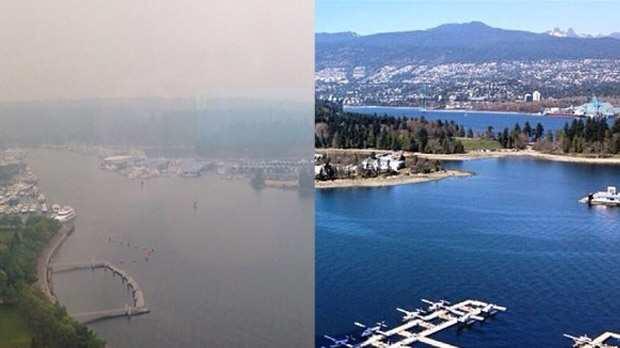 温哥华进入紧急状态:航班取消呼吸困难…