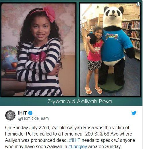 7岁亲生女儿死了 优发国际母亲被警方起诉谋杀