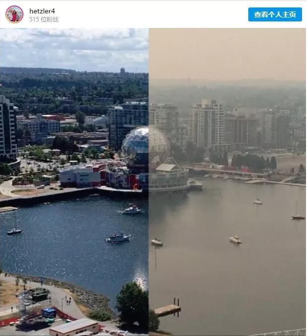 终于不用吸霾!全球最宜居城市温哥华今晚就回来