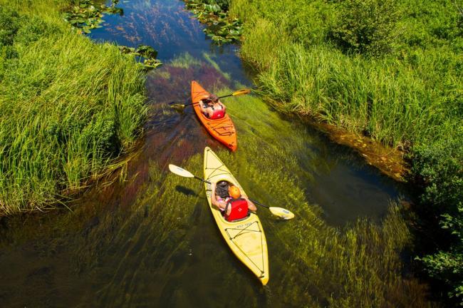 """在金色溪流漂游 运动起来 真的很""""加拿大"""""""