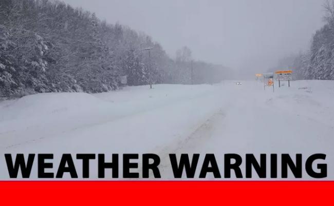警报!枫叶还没赏呢 BC省却发布大雪超10厘米预警