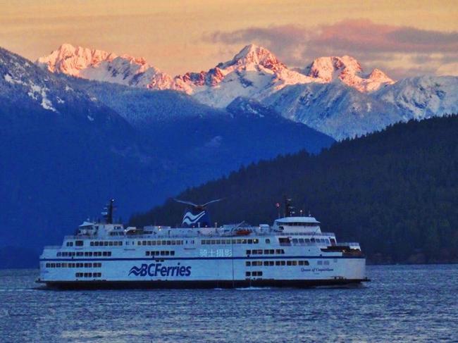 乘轮船往返温哥华与Nanaimo之间,谁来唤醒我?