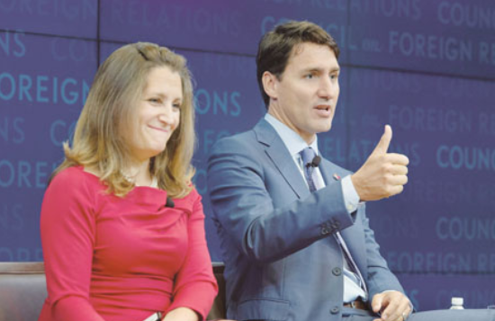 川普批加拿大关税高 拒会特鲁多  谈判不让步