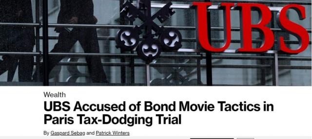 堪比大片! 瑞银帮富人偷税784亿手法如007电影