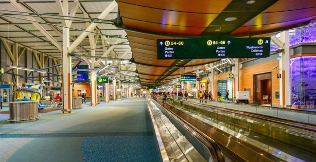 满载荣誉的一年 温哥华国际机场被评为全球第7