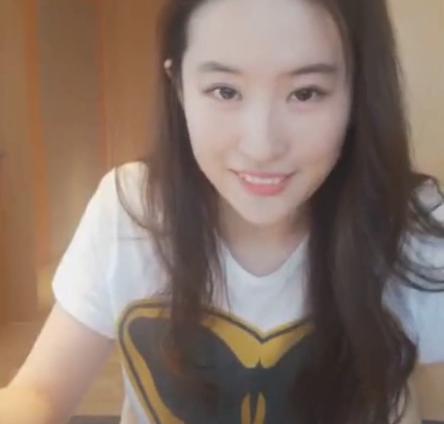 刘亦菲直播关美颜 没想到网友更加兴奋了