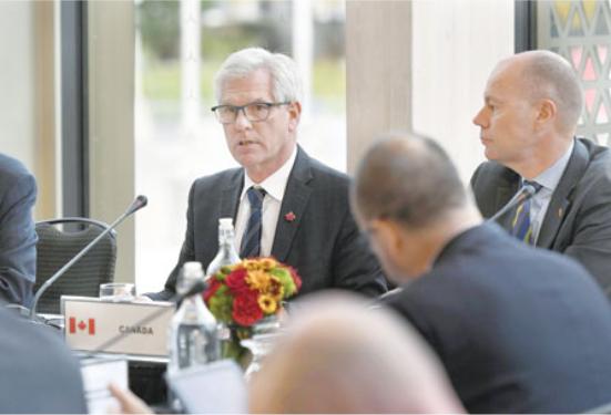 部长级会议渥太华召开 13国盼说服中美救世贸