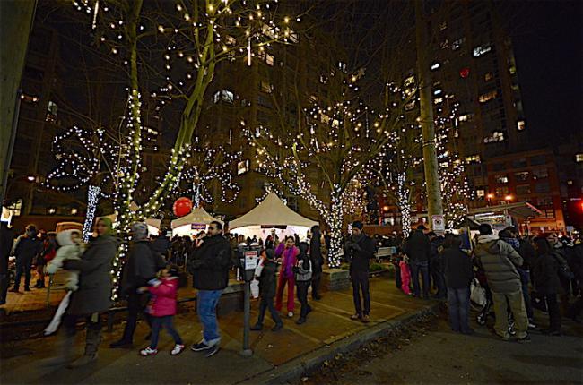 本周六耶魯鎮將變身美侖美奐的冬季仙境糖果城