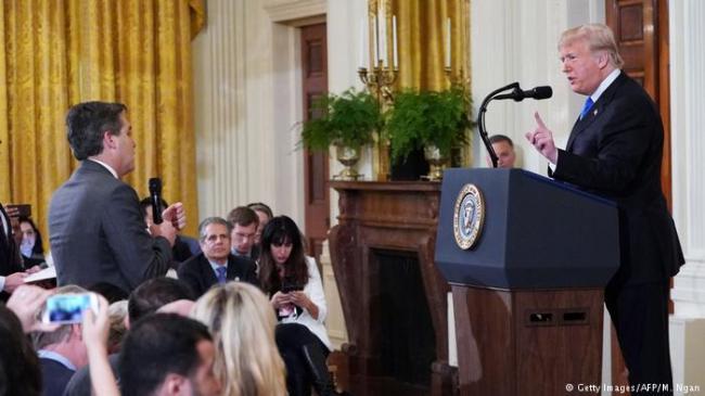 这招有意思白宫记者会今后只能一人一问