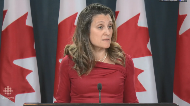 加国告诫美国 不要将孟晚舟做与中贸易谈判筹码